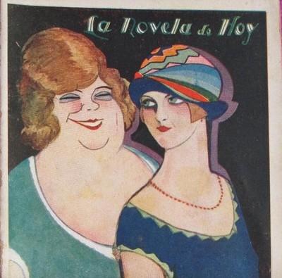 La calle de Provenza, portada de la edición de Novela de hoy (1928)