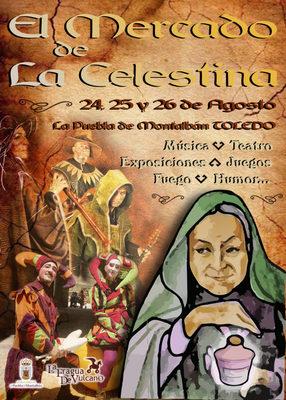 Cartel del Mercado de La Celestina, Puebla de Montalbán (2018)